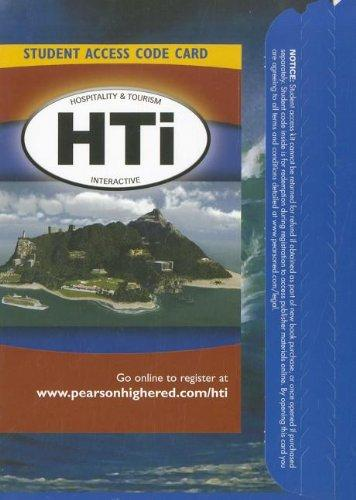 Hospitality and Tourism Interactive (HTi) -- Access Card