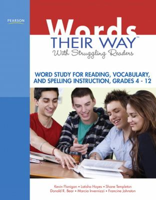 Words Their Way Word Study with Struggling Adolescent Readers