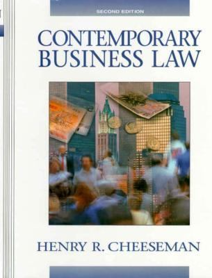 a course on contemporary business law 79708 contemporary business law 6cp there are course requisites for this subject see access conditions description this subject provides students with an understanding of the australian legal system and law-making process.