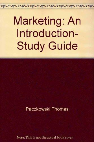 Marketing: An Introduction, Study Guide