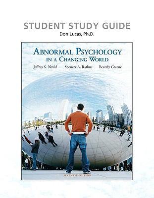 GSU - PSYC 3140 - Abnormal Psych Test 1 Study Guide ...