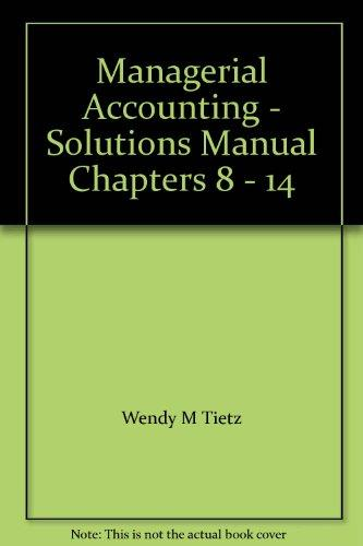 2018 Solutions Manual for Textbooks