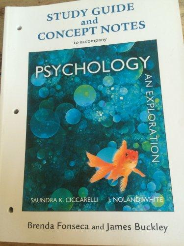 Study Guide with Concept Notes for Psychology