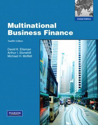 Multinational Business Finance : Global Edition