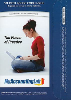 MyAccountingLab Student Access Code Card (Standalone)