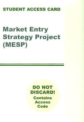 Market Entry Strategy Project Access Code Card (4th Edition)