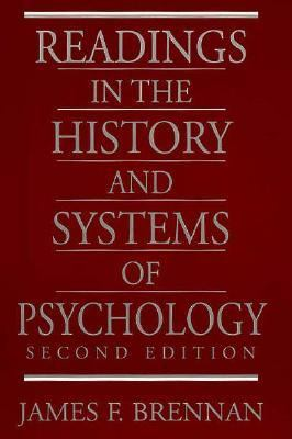 Readings in the History and Systems of Psychology (2nd Edition)