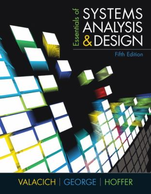 Essentials of Systems Analysis and Design (5th Edition)