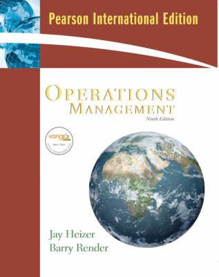 Operations Management : International Edition