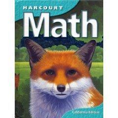 Harcourt School Publishers Math California: Student Edition  Grade 5 2002