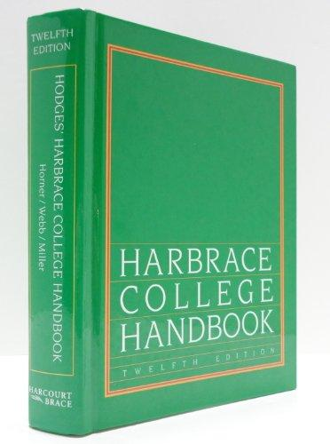 Harbrace College Handbook 12ED (Hodges' Harbrace Handbook with APA Update Card)