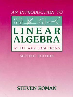 Intro.to Linear Algebra W/appl.