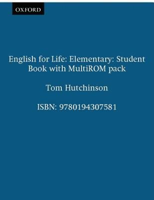 English for Life Elementary: Student's Book with Multi-rom