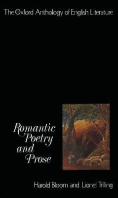 The Oxford Anthology of English Literature: Volume IV: Romantic Poetry and Prose (Pt.4)
