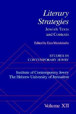 Literary Strategies Jewish Texts and Contexts