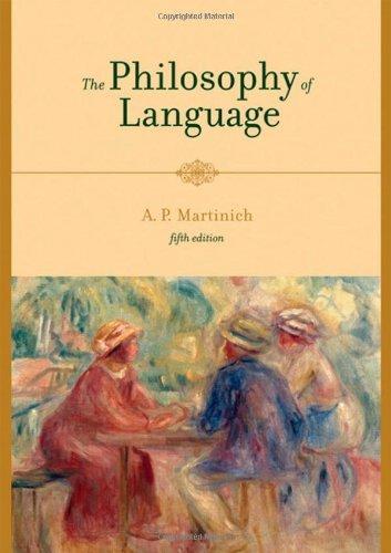 The Philosophy of Language