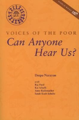 Voices of the Poor Can Anyone Hear Us?