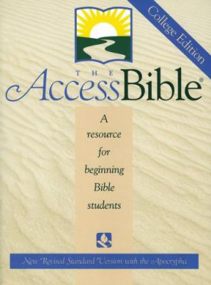 Bible New Revised Standard Version Access W/Apocrypha
