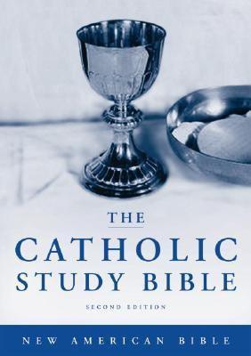 Catholic Study Bible New American Bible, Black Genuine Leather, Thumb Indexed