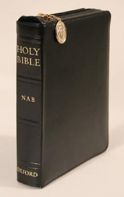 New American Bible Black, Zipper Duradera