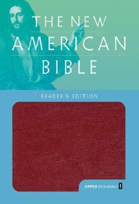 Holy Bible New American Bible, Duradera Burgundy Zipper, Reader's Edition