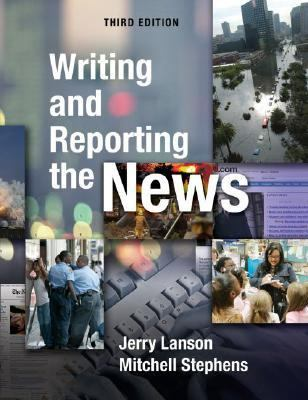 news writing and reporting english 1st edition