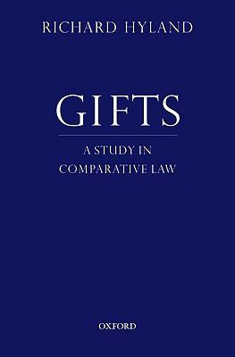 Gifts A Study in Comparative Law