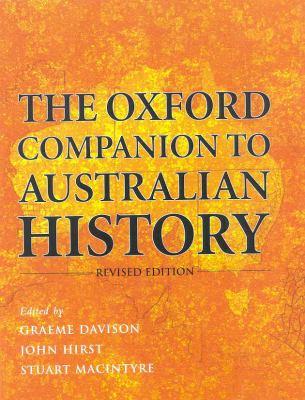 Oxford Companion to Australian History