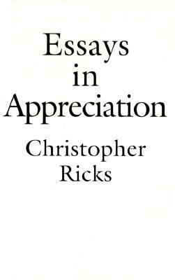 Essays in Appreciation