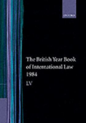 British Year Book of International Law 1984