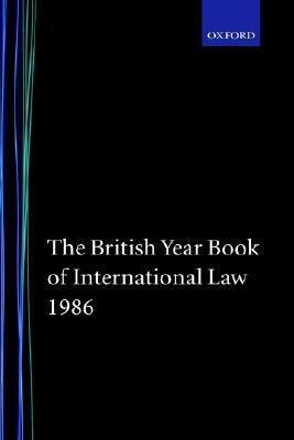 British Year Book of International Law, 1986