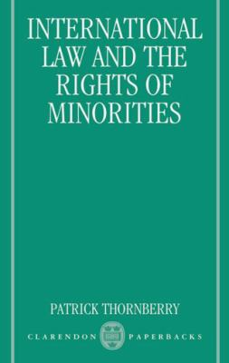 International Law and the Rights of Minorities