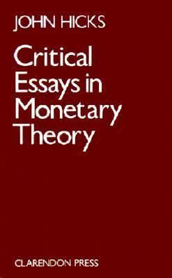 critical essays in monetary theory Developers of the isms software - for nispom compliance of classified information including document control, personnel management, visitor control, and contract.