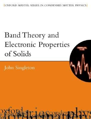 Band Theory and Electronic Properties of Solids