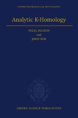 Analytic K-Homology