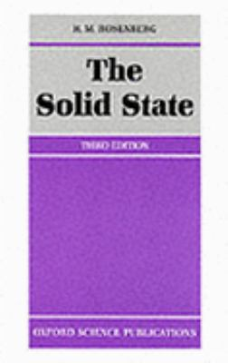 Solid State An Introduction to the Physics of Crystals for Students of Physics, Materials Science, and Engineering