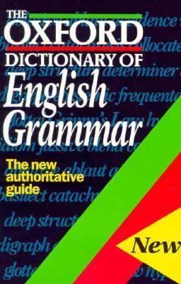 Oxford Dictionary of English Grammar