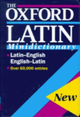 Oxford Latin Minidictionary/Flexicover