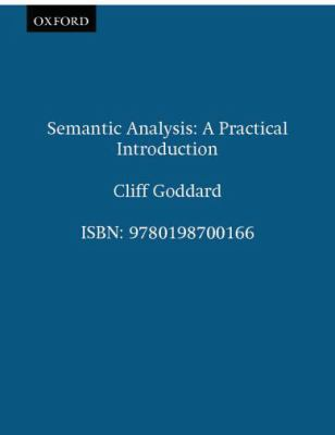 semantic analysis a practical introduction pdf