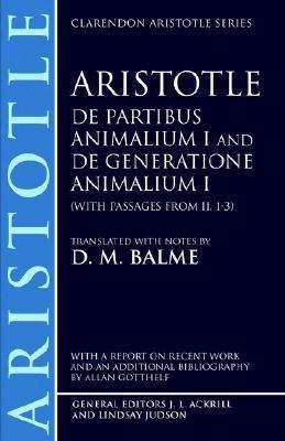 De Partibus Animalium I and De Generatione Animalium I