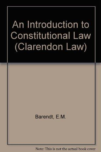 introduction to constitutional law pdf