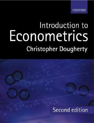 introduction to econometrics christopher dougherty solutions pdf