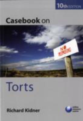 Casebook on Torts