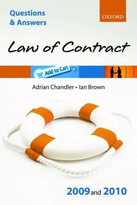 Q and A Law of Contract 2009 And 2010