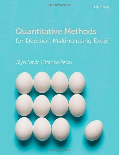 quantitative methods using excel Quantitative methods using excel 4187 words | 17 pages and the highlighted p-value for this test is p=0001 (0000951012) since the p-value is less than 005, this .