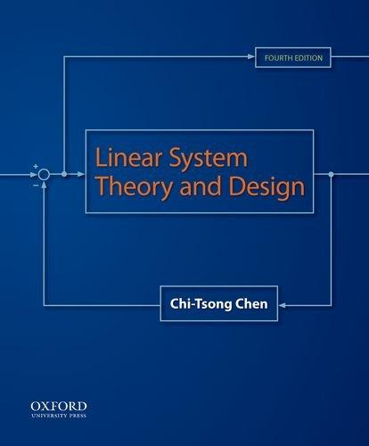 Linear System Theory And Design Chen Pdf
