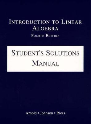 Intro.to Linear Algebra-stud.soln.man.