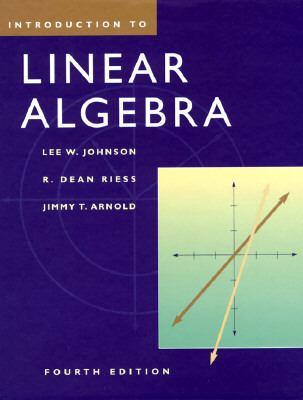 Intro.to Linear Algebra