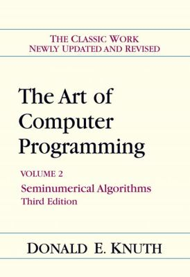 Art of Computer Programming, Volume 2: Seminumerical Algorithms (3rd Edition)