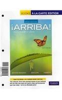 Arriba: Comunicacion y cultura, Brief Edition, Books a la Carte Plus MySpanishLab with eText (multi semester access) -- Access Card Package (6th Edition)